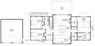 Post And Beam Floor Plans Post And Beam Single Level Plan The Wildwood