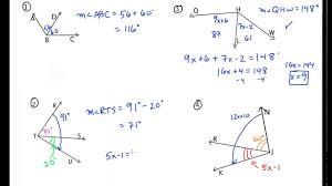 angle addition postulate worksheet u0026 geometry common core style