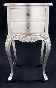 silver side table uk a beautiful parisian ornate two drawer l side table or bedside