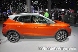 seat arona side at iaa 2017 indian autos blog