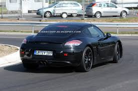 porsche truck 2013 spied new 2013 porsche cayman shows its face on the u0027ring