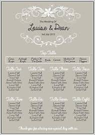what to plan for a wedding wedding table plans ebay
