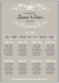 wedding plans wedding table plans ebay
