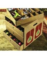 savings on improvements adjustable ornament storage box