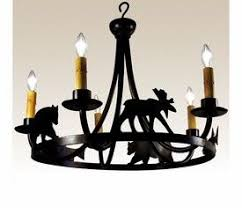 Bear Chandelier 12 Best Lighting Images On Pinterest Cabin Homes Chandeliers