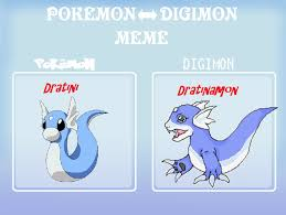 Dragonite Meme - pokemon digimon meme dratini as a digimon by greekgodapollosfart