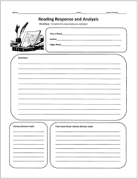 free graphic organizers for teaching literature and reading