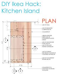 kitchen island construction ikea hack diy kitchen island tutorial sketchy styles