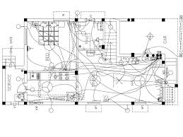electrical floor plan electrical drafting service in india microdra