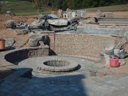 Rock Landscaping Ideas Backyard Exterior Natural Stone Dominated Materials Inside Can Add The