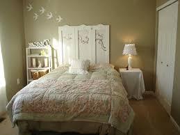 rustic shabby chic bedroom ideas venetian blind fur rug combined