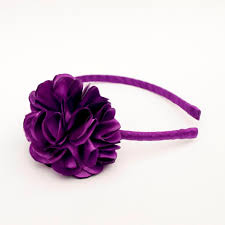 hair bands purple headband plastic headband hair band by cheekymooseco