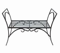 White Metal Outdoor Bench Incredible Work Art Wrought Iron Bench Design Ideas Bedroomi Net