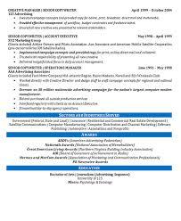 Copywriter Resume Sample by Creative Director Resume Example Copywriter Marketing