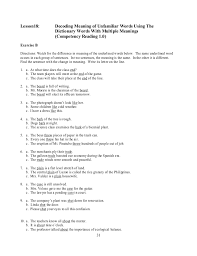 multiple meaning word worksheets u0026 1000 images about dictionary
