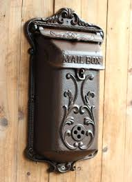 Whitehall Wall Mount Mailbox Residential Mailboxes Wall Mount