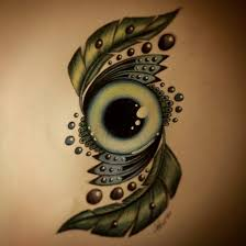 green eye tattoo design by slightlyannoyed cake on deviantart