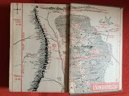 The Hobbit Map Robin Stevens U2013 My Favourite Book Maps Author Allsorts