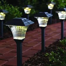 solar led walkway lights outdoor solar led path lighting outdoor designs
