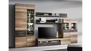 Wohnzimmerschrank Eiche Antik Perfekt Wohnwand Nabou Bewildering On Dekoration Fur Wohnzimmer