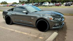 Mustang Black Rims Mustang Gt 350 Style Wheels By Sve S350 Black Fits 2015 2016