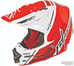 motocross racing helmets motocross action magazine mxa team tested fly racing f2 carbon