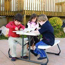 Children Patio Furniture by Lifetime Kids Play Picnic Folding Garden Outdoor Furniture Patio