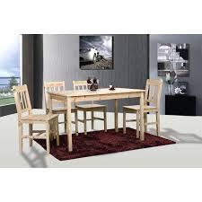 chaises de cuisine en pin chaises de cuisine en pin table de cuisine salle a manger 4 chaises