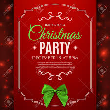 lovely christmas party poster template free 92 about invitation