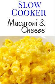 no boil crockpot macaroni and cheese