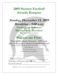 banquet program templates 23 images of football banquet template kpopped