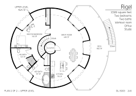 gallery floor plan dl 5003 monolithic dome institute