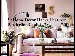 best sites for home decor 30 home decor hacks that are borderline genius youtube
