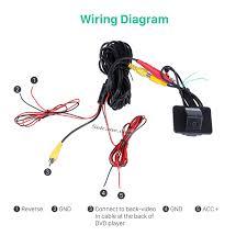 wired car parking backup reversing camera for kia k5 waterproof
