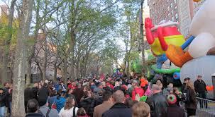 setup kaws companion balloon for macy s thanksgiving parade