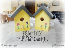 Build Your Own Home Kit by Easy Diy Birdhouse Kit Project U2022 The Fit Cookie