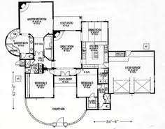 santa fe house plan 54644 total living area 3061 sq ft 3