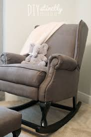 Rocking Chair With Ottoman For Nursery Nursery Pottery Barn Rocking Chair Best Chairs Inc Glider