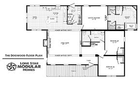 dogwood ranch style modular home floor plan