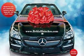 16 large gift car bow sales displays wedding chair bows
