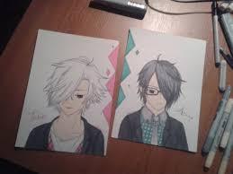 yusuke brothers conflict brocon tsubaki and azusa by alessazero on deviantart
