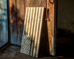 American Flag Wall Hanging Wall Decor Usa Flag Not Painted Atelier Article