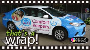 Comfort Keeprs That U0027s A Wrap Comfort Keepers Curzon Promotional Graphics U0027s Blog