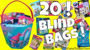 blind bags rare opening pj masks trolls shopkins toy story