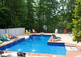 Pool Designs For Backyards 15 Lazy L Swimming Pool Designs Home Design Lover