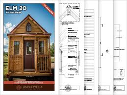 tiny house building plans elm 20 building plans tumbleweed houses