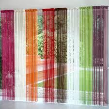 comment fabriquer un rideau de fil avec des rubans astuces