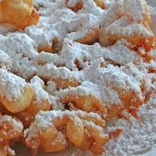 this gluten free funnel cake will make your mouth water and uses