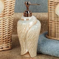 unique soap dispenser sarasota seashell bath accessories
