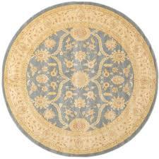 nuloom trellis navy blue 8 ft x 8 ft round area rug mtvs27d 808r